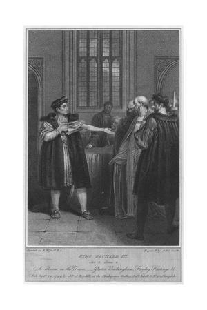 King Richard III. Act 3. Scene 4. A Room in the Tower