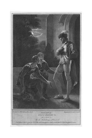 'Second part of King Henry VI. Act 2. Scene 2. York, Salisbury & Warwick', 1795