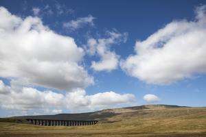 Ribblehead Viaduct, Ingleton, Yorkshire Dales National Park, Yorkshire, England, United Kingdom, Eu by Ann and Steve Toon