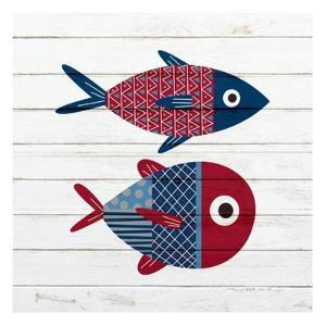 Americana Fish 1 by Ann Bailey