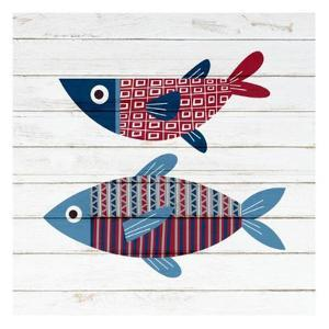 Americana Fish 2 by Ann Bailey