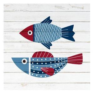 Americana Fish 4 by Ann Bailey