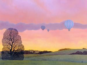 Balloon Race, 2004 by Ann Brain