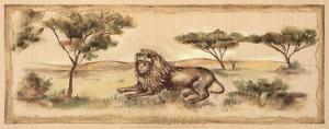 Safari Lion by Ann Brodhead