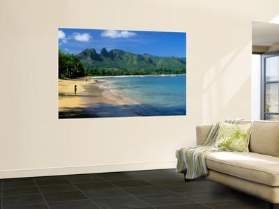 Anahola Beach Park Near Kapaa by Ann Cecil