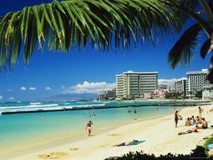 Kuhio Beach by Ann Cecil