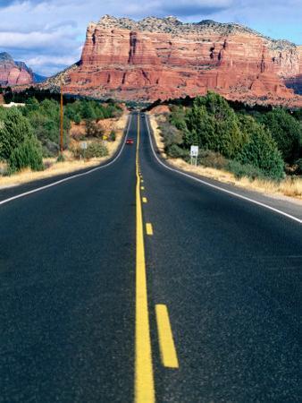 Road Into Sedona, Sedona, U.S.A. by Ann Cecil