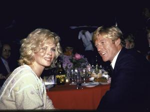 Actors Kim Basinger and Robert Redford by Ann Clifford