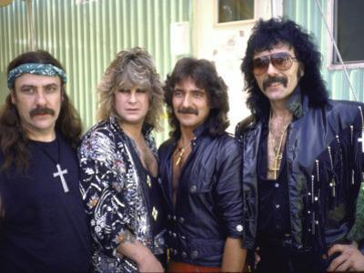 Ozzy Osbourne and Members of Heavy Metal Rock Group, Black Sabbath