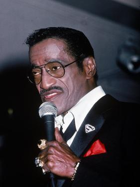 Singer Sammy Davis Jr by Ann Clifford