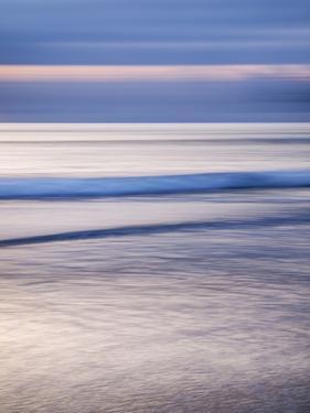 USA, California, La Jolla, Dusk at La Jolla Shores by Ann Collins