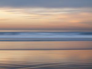 USA, California, La Jolla. Ocean abstract at La Jolla Shores beach by Ann Collins