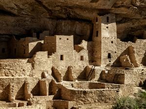 USA, Colorado, Mesa Verde National Park. Cliff Palace ruin by Ann Collins