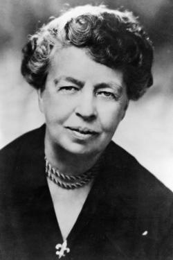 (Ann) Eleanor Roosevelt (1884-196) American Humanitarian