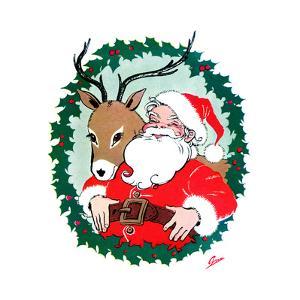 Ho Ho Ho! - Jack & Jill by Ann Eshner
