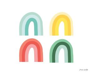 Rainbow Colors II by Ann Kelle