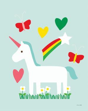 Unicorn Fun II by Ann Kelle