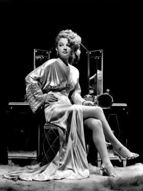 Ann Sheridan at Make-Up Table, 1938