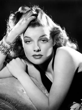Ann Sheridan, Portrait Used as the Cover for Silver Screen-August 1940