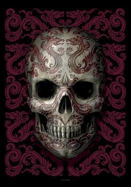 Ann Stokes - Oriental Skull