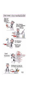 How to Make a Fake News Bomb Cocktail. *Do not add other news sources... by Ann Telnaes