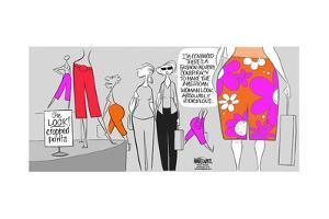 I'm concerned there's a conspiracy to make the American woman look absolutely ridiculous. by Ann Telnaes