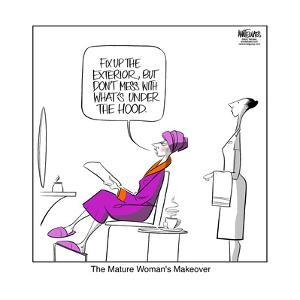 The mature woman's makeover. by Ann Telnaes
