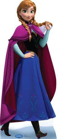 Anna 2 - Disney's Frozen Lifesize Standup