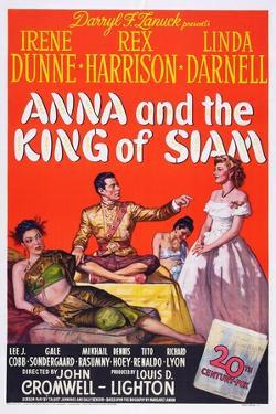 Anna and the King of Siam, Linda Darnell, Rex Harrison, Irene Dunne, 1946