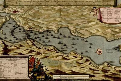 Citadel at the Ancient City of Marseille, France - 1700