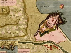 Gibraltar - 1700 by Anna Beeck