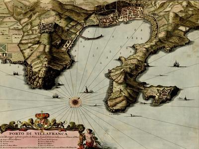 Rome on the Tiber and the Vatican - 1700