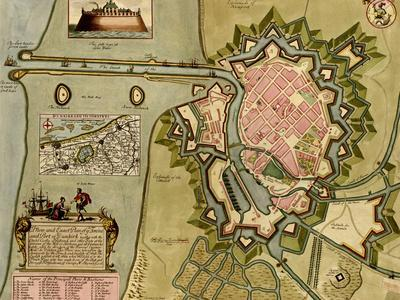Survey of London, Westminster, and Southwark - 1700