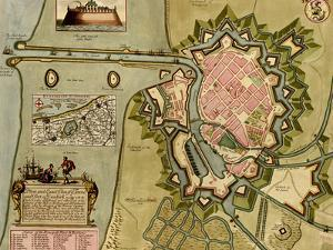 Survey of London, Westminster, and Southwark - 1700 by Anna Beeck