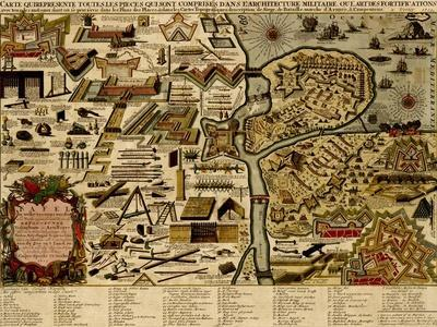 Vauban Defenses on the Narva, Estonia - 1700
