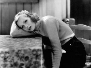 ANNA CHRISTIE, 1930 directed by CLARENCE BROWN Greta Garbo (b/w photo)