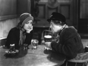 ANNA CHRISTIE, 1930 directed by CLARENCE BROWN Greta Garbo / Marie Dressler (b/w photo)