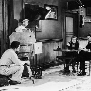 ANNA CHRISTIE, 1930 directed by CLARENCE BROWN On the set; Greta Garbo with the director Clarence B