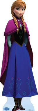 Anna - Disney's Frozen Lifesize Standup