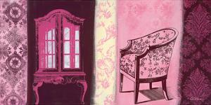 Cupboard & Brocade by Anna Flores