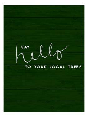 Hug a Tree I by Anna Hambly