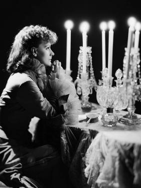 Anna Karenina by Clarence Brown, based on a novel by Leo Tolstoi, with Greta Garbo, 1935 (b/w photo