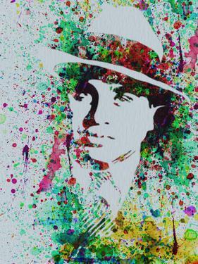 Al Capone Watercolor by Anna Malkin