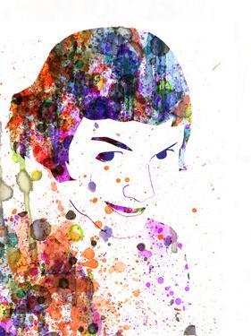 Amelie Watercolor by Anna Malkin