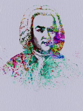 Bach Watercolor by Anna Malkin