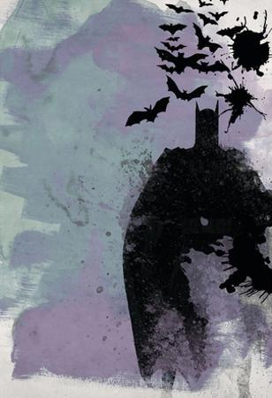 Batman Watercolor by Anna Malkin