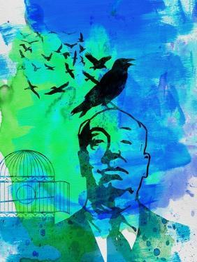 Birds Watercolor by Anna Malkin
