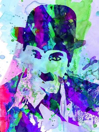 Chaplin Watercolor by Anna Malkin