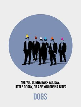 Dogs Poster 1 by Anna Malkin