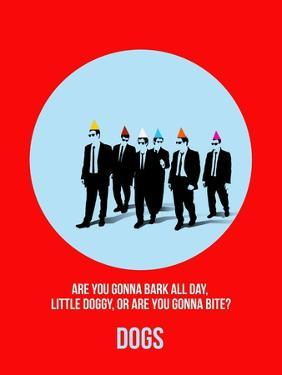 Dogs Poster 2 by Anna Malkin
